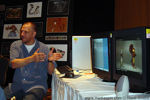 Rex Grignon Demoing Animation System