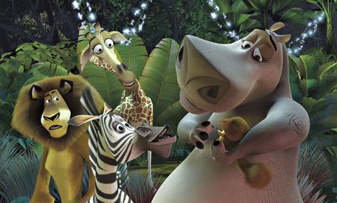 حصريا أفلام مدغشقر الأول والثانى